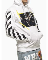 "Off-White c/o Virgil Abloh | White ""Caravaggio"" Sweatshirt for Men 