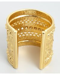 Ben-Amun | Metallic Amazon Gold Cuff | Lyst