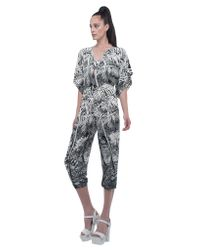 Norma Kamali | Multicolor Rectangle Jog Jumpsuit | Lyst