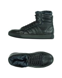 Moncler - Blue High-tops & Trainers for Men - Lyst