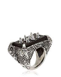KD2024 - Black 4p Ring for Men - Lyst