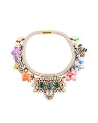 Shourouk - Multicolor Avalon Multi Necklace - Lyst