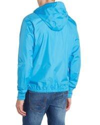 Blend | Blue Casual Full Zip Windbreaker for Men | Lyst