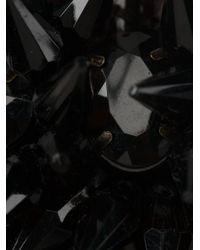 Marni - Black Drop Spiked Ribbon Necklace - Lyst