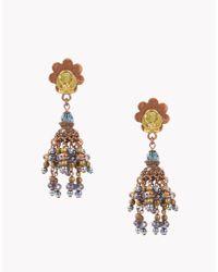 DSquared² - Blue Gipsy Earrings - Lyst