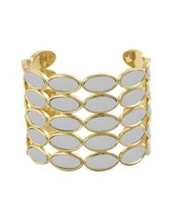 House of Harlow 1960 | Metallic Del Sol Leather Cuff | Lyst