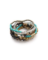 Lacey Ryan | Metallic Embrace Bracelet Set | Lyst