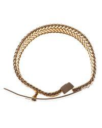 Wouters & Hendrix - Metallic Buckled Bracelet - Lyst