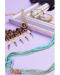AKIRA | Metallic Samrajni Necklace | Lyst
