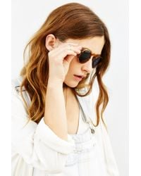 Dusen Dusen - Brown Oval Frame Sunglasses - Lyst