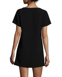 Elizabeth and James - Black Rheyan Lace-Up Dress - Lyst
