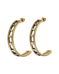 Jenny Bird | Metallic Moonsong Hoops | Lyst