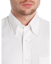 Chester Barrie - White Classic Button Down Shirt for Men - Lyst