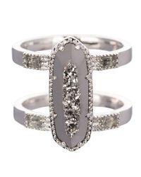 Kendra Scott | Metallic Mckenzie Ring | Lyst