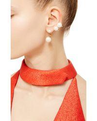 Delfina Delettrez | Metallic Gold Multi Pearl Earring | Lyst
