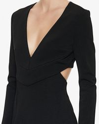 Nicholas - Black Exclusive Cut Out Back Dress - Lyst