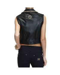 Philipp Plein - Black Women's Jacket - Lyst
