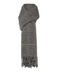 Max Mara - Black Caronte Virgin Wool Scarf - Lyst