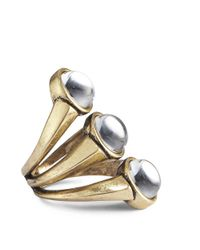 Jenny Bird - Metallic Orion Ring - Size 8 - Lyst
