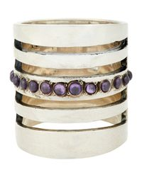 Pamela Love | Purple Single Path Ring | Lyst