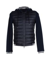 Moncler - Blue Down Jacket for Men - Lyst