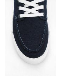 Urban Outfitters | Blue Lacoste Keel Boat Shoe Sneaker | Lyst