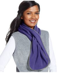Style & Co. | White Style&co. Fleece Oblong Scarf, Only At Macy's | Lyst