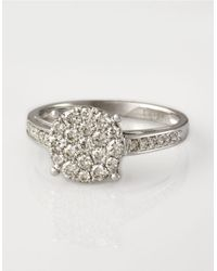 Effy | Metallic Bouquet Diamond Ring In 14 Kt White Gold | Lyst