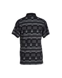 LRG - Black Polo Shirt for Men - Lyst