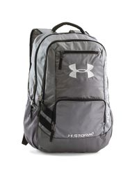 Under Armour | Metallic Ua Storm Hustle Ii Backpack for Men | Lyst