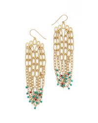 Aurelie Bidermann | Metallic Chain Earrings | Lyst
