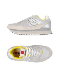 Lotto Leggenda - Gray Low-tops & Trainers - Lyst