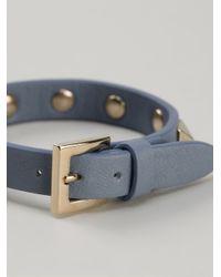 Valentino | Blue Small Rockstud Bracelet | Lyst