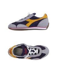 Diadora - Purple Low-tops & Sneakers - Lyst
