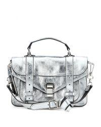 Proenza Schouler | Ps1 Tiny Metallic Leather Shoulder Bag | Lyst