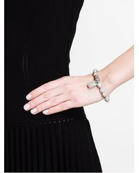 Loree Rodkin - White Keshi Pearl Charm Bracelet - Lyst