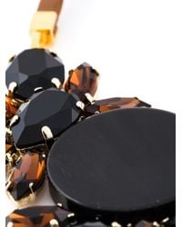 Marni - Black Crystal Necklace - Lyst
