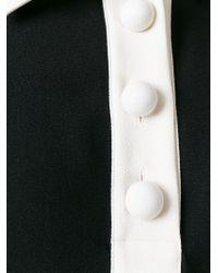 See By Chloé - Black Ruffled Hem Shirt Dress - Lyst