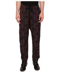 Uma Wang - Natural Viscose Pants for Men - Lyst