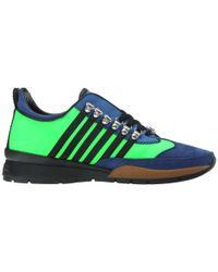 DSquared² | Black Sport Sneakers Ii for Men | Lyst