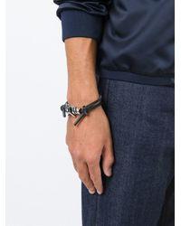 DSquared² - Black Barbed Wire Bracelet for Men - Lyst