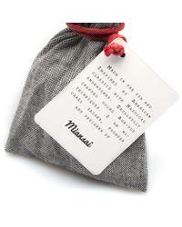 Miansai | Black Leather Black Anchor Bracelet for Men | Lyst