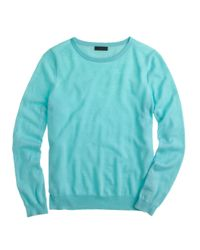 J.Crew | Blue Collection Featherweight Cashmere Long-sleeve T-shirt | Lyst