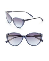 Jason Wu - Blue 'silvie' 57mm Sunglasses - Navy - Lyst
