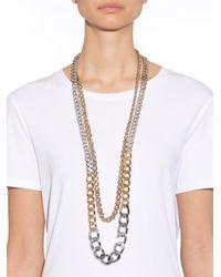 Max Mara - Metallic Bligny Necklace - Lyst