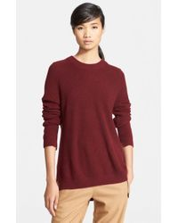 Rag & Bone | Red 'valentina' Knit Cashmere Tunic | Lyst