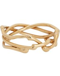 Dean Harris | Metallic Gold Twisted Vine Ring for Men | Lyst