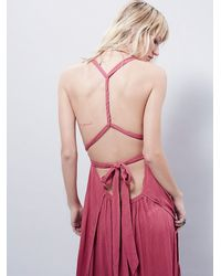 Free People | Pink All The Moves Convertible Dress | Lyst