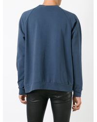 Faith Connexion - Blue Crest Print Sweatshirt for Men - Lyst