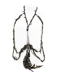 KD2024 - Black Rolling Board Jeweled Body Harness for Men - Lyst
